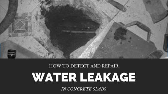 Detect-and-Repair-Water-Leakage-in-Concrete-Slabs