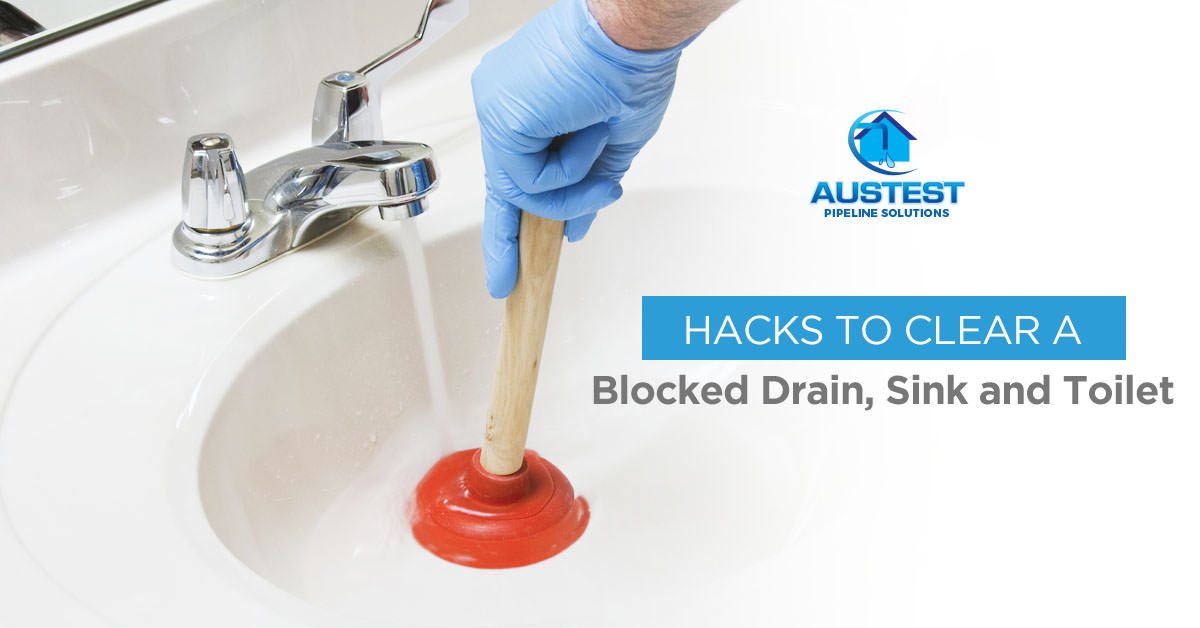 How To Clear Blocked Drains, Sink Or Toilet