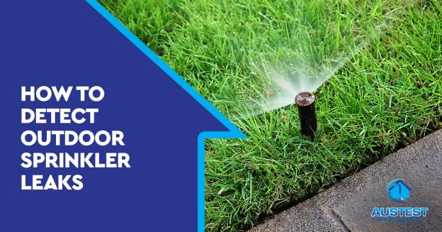 outdoor sprinkler leaks